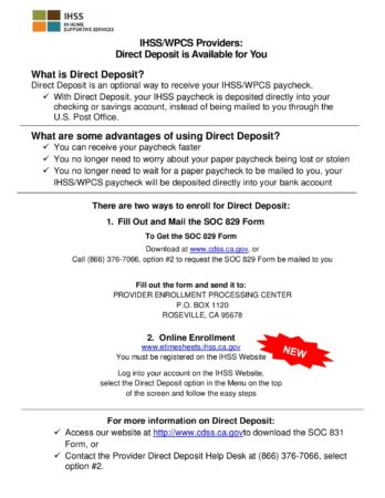 Direct Deposit Flyer 050118